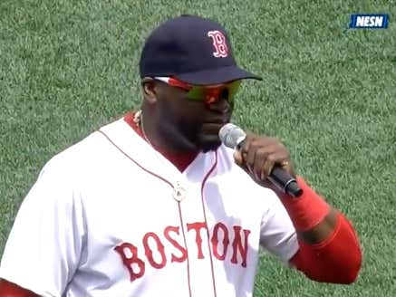 Eight Years Ago Today, David Ortiz Delivered One Of The Greatest Speeches In Boston History