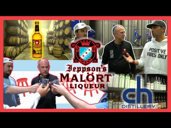 VIDEO: Barstool Chicago Gets A Private Tour Of The Malort Distillery In Pilsen, Chicago