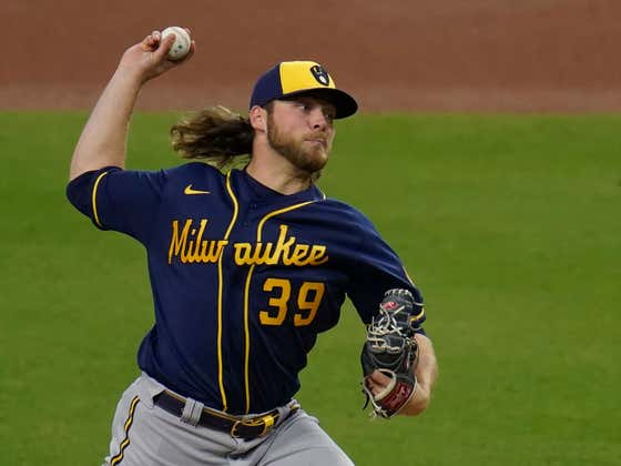 Corbin Burnes is Putting Up Video Game Numbers That We've Never Actually Seen Before From a Starting Pitcher