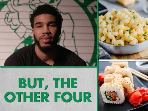 I'll Be Honest, Jayson Tatum Not Liking Mac & Cheese Is Concerning