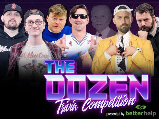 Top 5 Trivia Teams Battle For The Last Tournament Bye & 4-Seed (The Dozen pres. by BetterHelp: Episode 104)