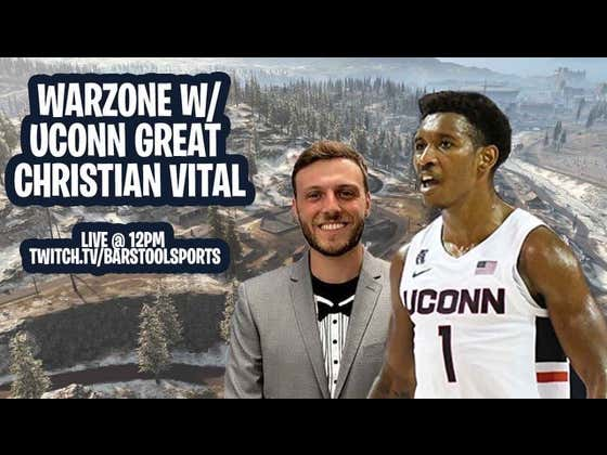 I Gamed with Former UConn Basketball Stud Christian Vital in Warzone