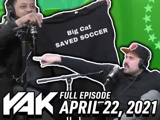 Congratulations To Big Cat For Saving Soccer