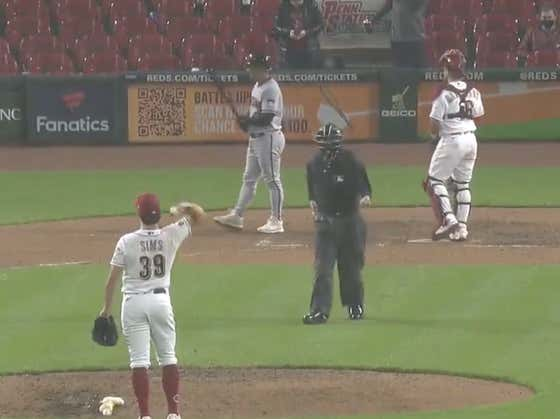 Reds Pitcher Lucas Sims Wanted Nothing To Do With Pitching in a Fucking Monsoon So He Decided To Throw Every Ball Into The Dugout Until The Umpire Stopped The Game