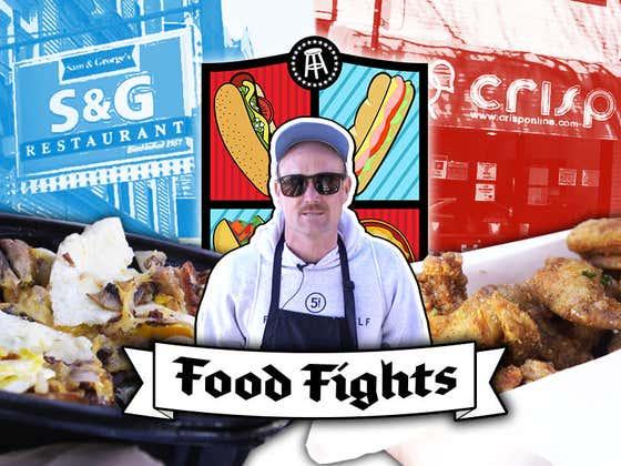 Crisp Chicken Wings vs. S&G Egg Skillet #13 | Chicago Food Fights: Lakeview