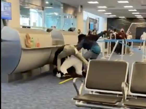 A MASSIVE Brawl Broke Out In The Miami Airport Over Remaining Seats Left On A Flight
