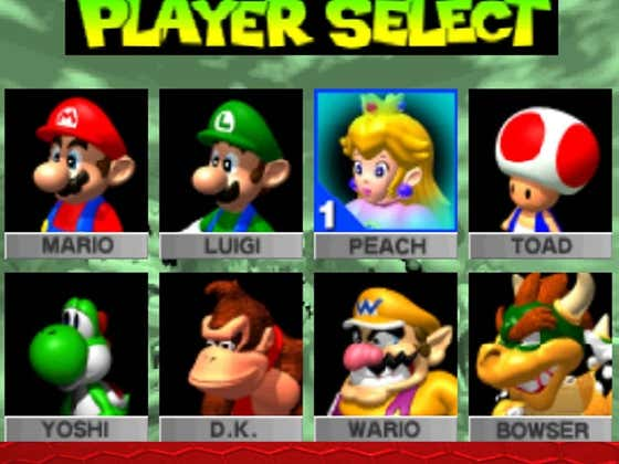 No Offense to Reags but....YOSHI!?!? That's Your Pick??? Yikes...