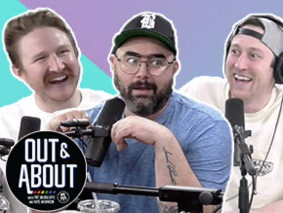 Feits, Pat & Joey Camasta Sit Down For A WILD Conversation On Out & About (Ep. 45)