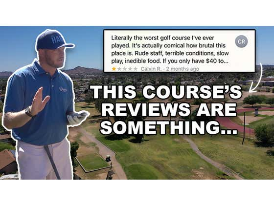 Riggs vs Paradise Valley Golf Course, 6th Hole