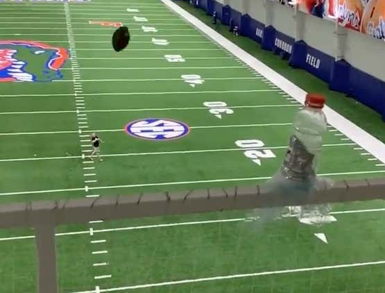 The Bengals Get An A+ Grade For Drafting Kicker Evan McPherson Simply Because He Had The Most Mindblowing Highlight Of Any Draft Prospect This Year, If Not Ever
