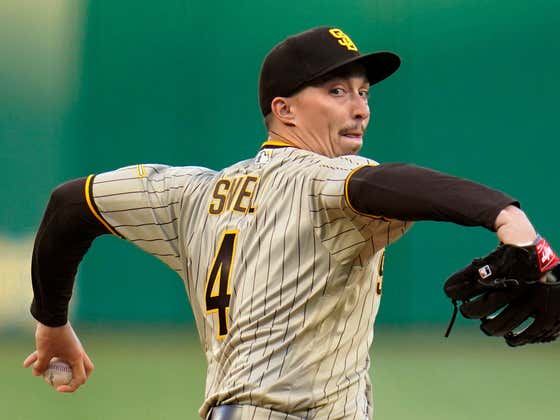 Blake Snell Found Out He Was An 82 In MLB The Show 21 Live On Twitch And Boy Oh Boy He Was Not Happy