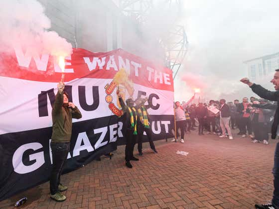 Can You Imagine If Fans Of Teams Owned By Dogshit Owners In The US Protested Like They Did Today In Manchester, England?