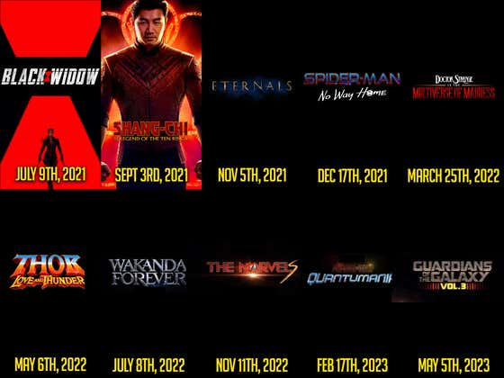 Breaking Down The NEW Marvel Cinematic Universe Release Schedule