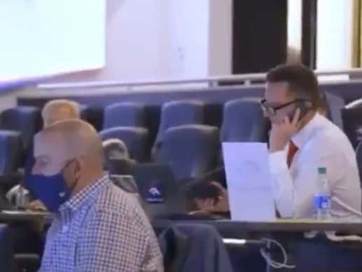 We Need More Videos From Draft Rooms Like This One Of Broncos GM George Paton Hanging Up On Another GM Mid-Trade Talk