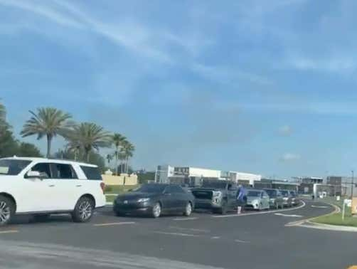 Today In Florida: Roughly A Zillion Cars Waited For Hours In Traffic For The First White Castle In Orlando To Open
