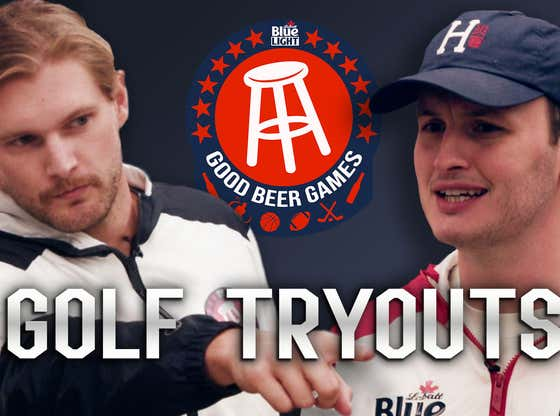 The Good Beer Games Are Back ... With Golf Tryouts