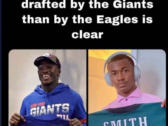 Jabril Peppers Wants The World To Know That DeVonta Smith Is Going To Hate Not Being A New York Giant