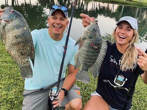 Using a Blowgun to Shoot Invasive Tilapia Down in Florida