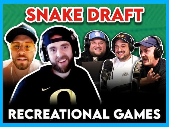 Recreational Games While Drinking Draft: Watch Hank's Brain Melt After His First Round Pick
