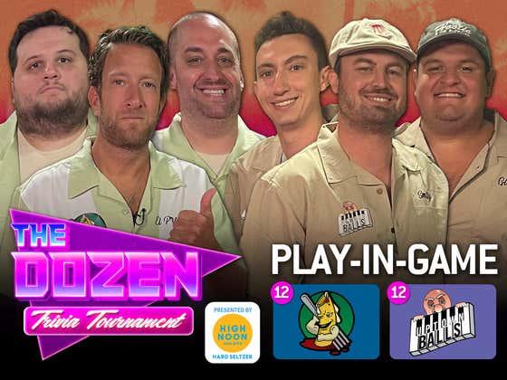 Dave Portnoy & Team Ziti vs. Uptown Balls (The Dozen: Trivia Tournament pres. by High Noon Match 01)