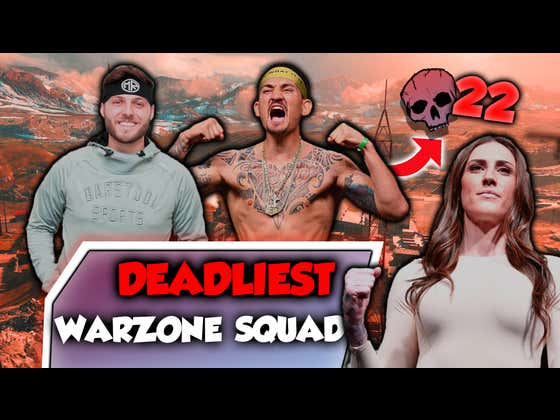 I Squaded Up With Max Holloway and Megan Anderson To Form The Deadliest Squad Verdansk Has Ever Seen