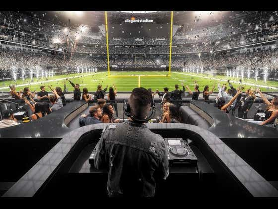 The Las Vegas Raiders Will Have A Full Fledged Nightclub Behind One Of Their End Zone's, Complete With DJ and Bottle Service Because Of Course They Will
