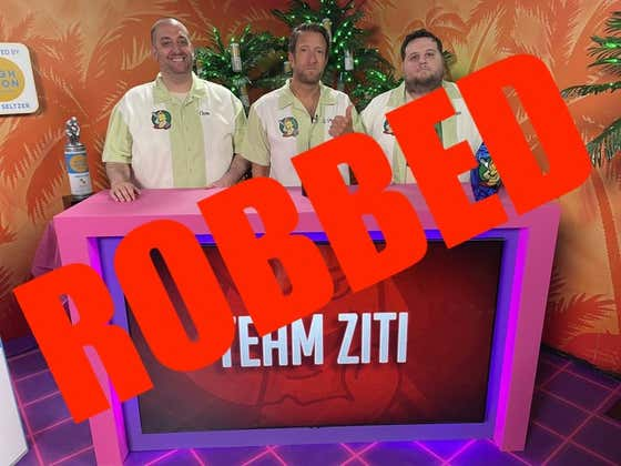 Team Ziti Was Hoodwinked, Bamboozled, Led Astray, Run Amok, And Flat Out DECEIVED During The Play-In Game Of The Dozen Tournament