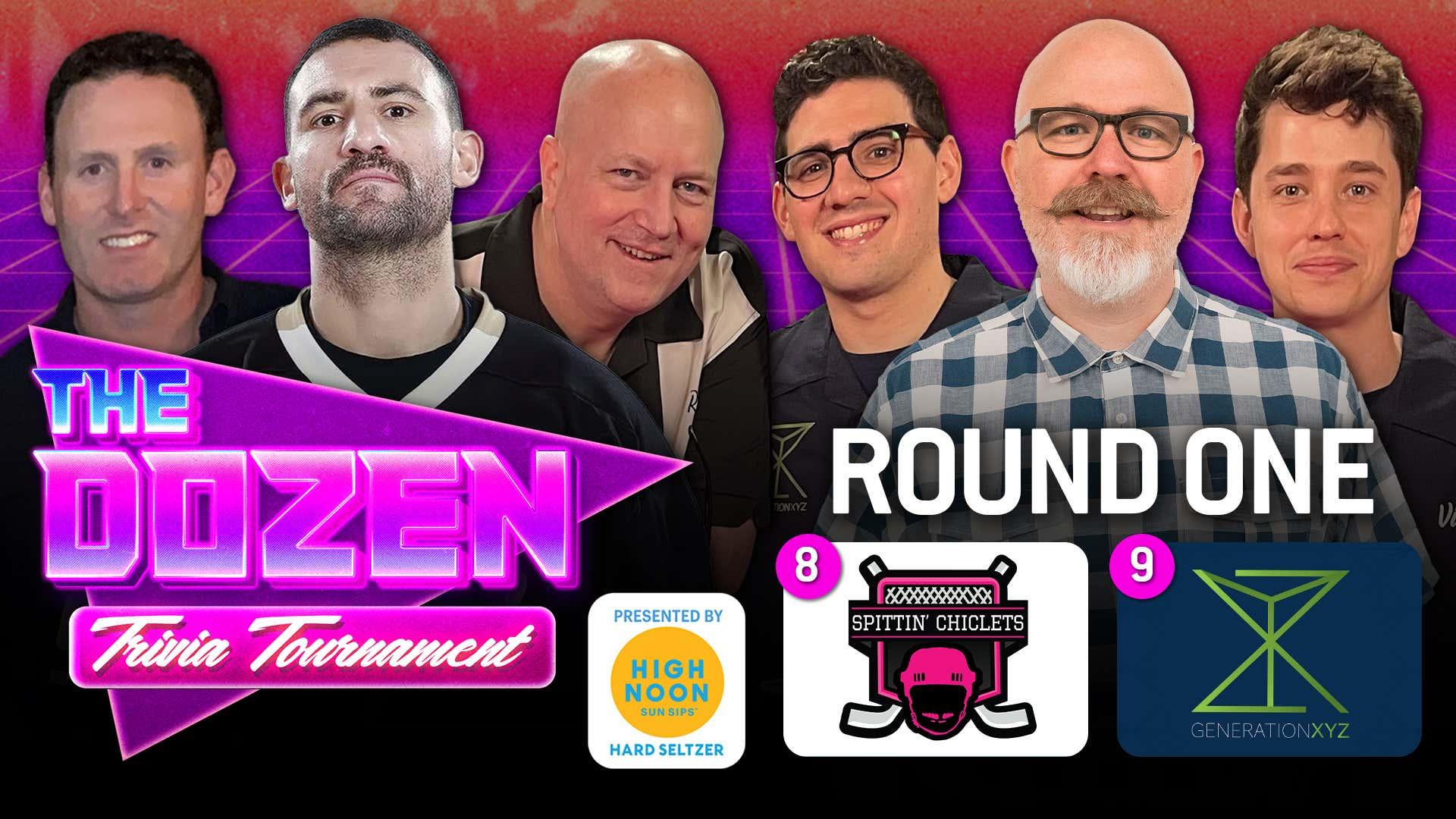 Spittin Chiclets vs. Gen XYZ (The Dozen: Trivia Tournament pres. by High Noon Match 02)