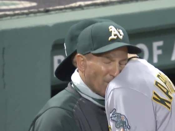 Athletics' Rookie James Kaprielian's Dad Going Nuts For His Son In His First Career Start Was Awesome