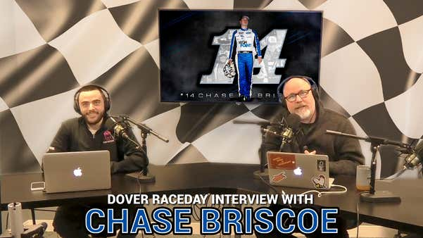 It's RACEDAY, and we are boots on the ground at Dover with Chase Briscoe