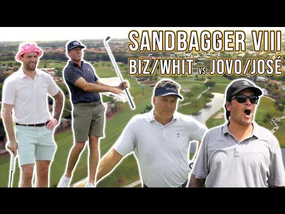 José Théodore & Ed Jovanovski VS Paul Bissonnette & Ryan Whitney - Sandbagger Invitational VIII