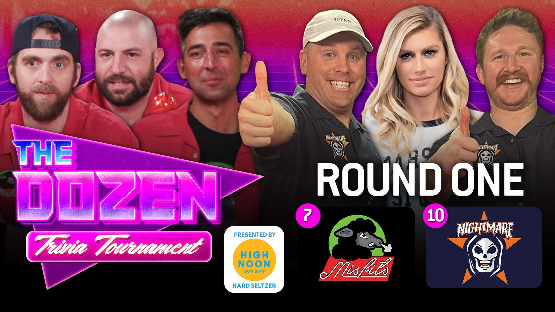 The Misfits vs. Nightmare (The Dozen: Trivia Tournament pres. by High Noon Round 1, Match 5)