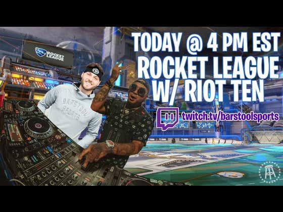 CAR SOCCER - We're Playing Rocket League With DJ Riot Ten