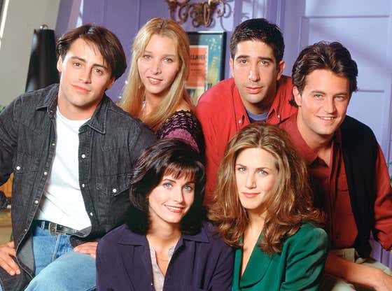 We're Already Crying at the Friends Reunion