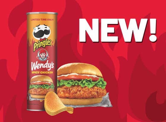 Holy Shit, Pringles Released A New Wendy's Spicy Chicken Flavor