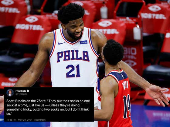 The Wizards Are Screwed Once The Sixers Start Putting Both Their Socks On At The Same Time