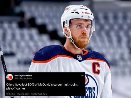 Connor McDavid Needs To Lawyer Up And Sue The Oilers After Edmonton Blew A 4-1 Lead