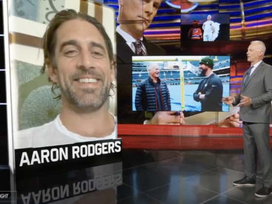 Aaron Rodgers Hopped on Kenny Mayne's Final SportsCenter And Made It Pretty Clear He's Done With the Packers Front Office