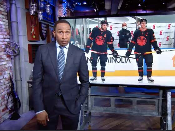 Noted Puck Head Stephen A. Smith Goes In On The Edmonton Oilers For Being An Absolute Joke