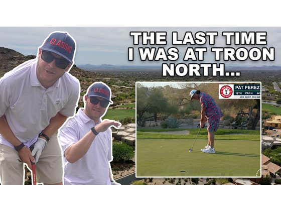 Riggs Vs Troon North, Monument Course, 16th Hole