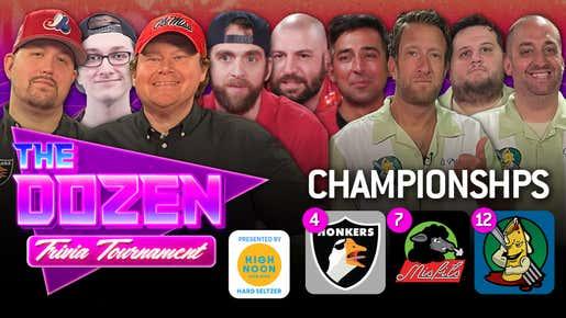 Big Screamin Honkers vs. Misfits/TBD vs. Ziti (The Dozen: Trivia Tournament Championships pres. by High Noon)