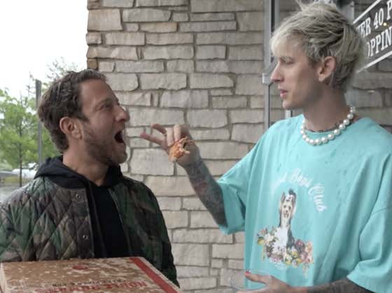 Barstool Pizza Review - Noble Roman's Craft Pizza & Pub (Westfield, IN) with special guest Machine Gun Kelly