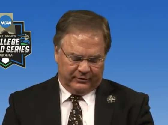 The NCAA Baseball Chairman Was Asked Why Alabama Made the Tournament and He Proceeded to Give a Lesson in Making Up Bullshit on the Fly