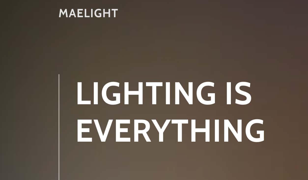 Maelisa Reed Lighting