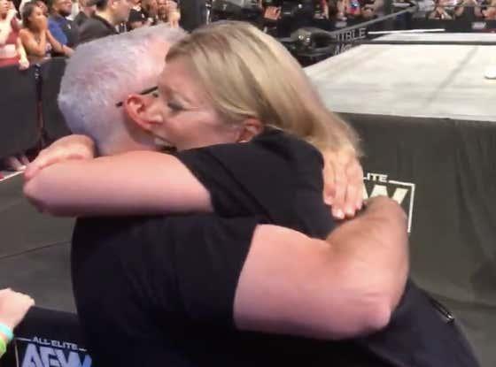 Watch Britt Baker's Parents Celebrate Her Becoming AEW Women's Champion Live This Weekend