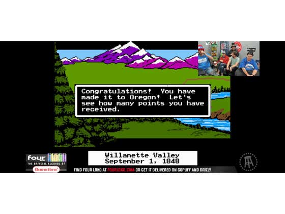 I Am Officially Undefeated Against The Oregon Trail