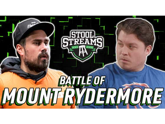 Battle of the Ryders: Big Cat and Rico Bosco Prepare For Today's Stool Streams LIII, Live at 2 PM ET