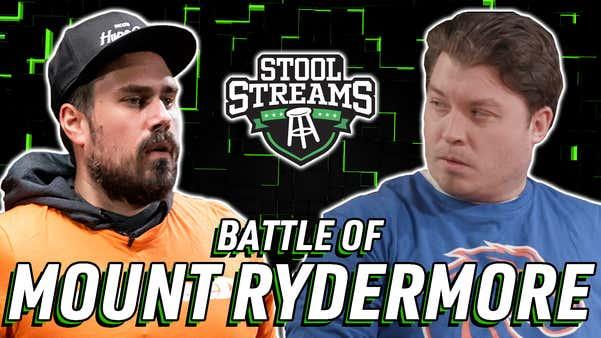 Stool Streams LIII: It's The Battle of the Ryders as Big Cat Faces Rico Bosco in a Cornhole Triple-Header