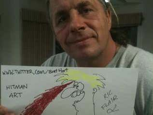 Bret Hart's X-Rated Cartoons Were The Peak Of Comedy For The 90s WWF Locker Room