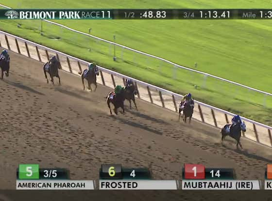 American Pharoah Winning The Belmont Stakes Is The Best Call In Sports History